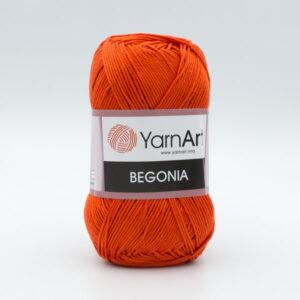 Пряжа YarnArt Begonia 5535 ярко-оранжевый