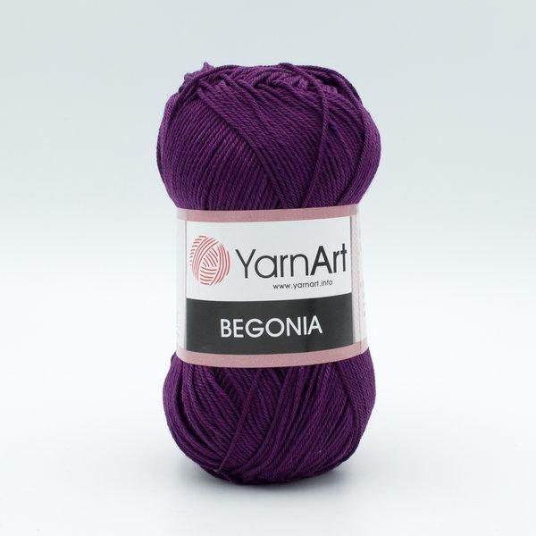 Пряжа YarnArt Begonia 5550 фиолетовый