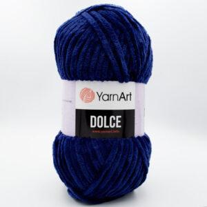 Пряжа плюшевая YarnArt Dolce 756 темно-синий