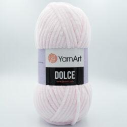 Пряжа плюшевая YarnArt Dolce 781 пастельно-розовый