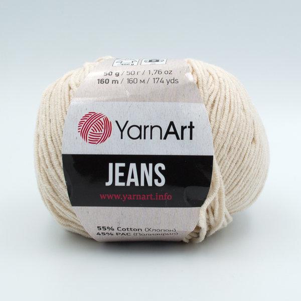 Пряжа YarnArt Jeans 05 светло-бежевый