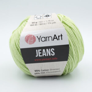 Пряжа YarnArt Jeans 11 светлый салат