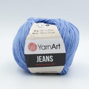 Пряжа YarnArt Jeans 15 голубой