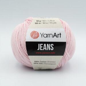 Пряжа YarnArt Jeans 18 пастельный розовый