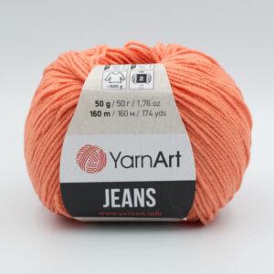 Пряжа YarnArt Jeans 23 светло-коралловый