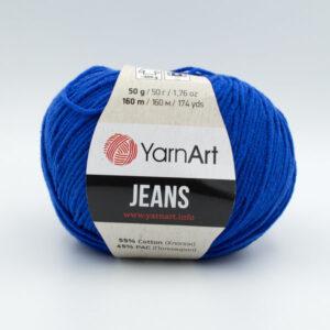 Пряжа YarnArt Jeans 47 синий