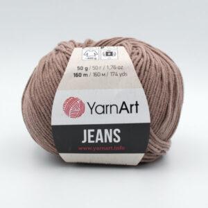 Пряжа YarnArt Jeans 71 мокко