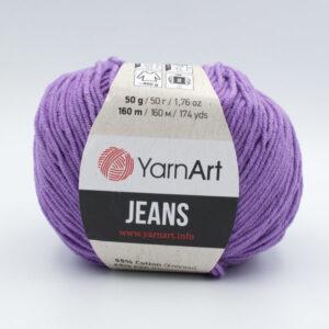 Пряжа YarnArt Jeans 72 сиреневый