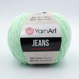 Пряжа YarnArt Jeans 79 мята