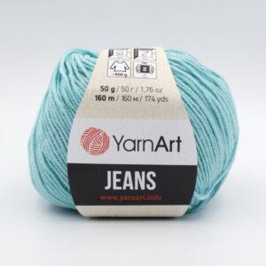 Пряжа YarnArt Jeans 41 бирюза