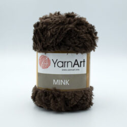 Пряжа YarnArt Mink 333 шоколад