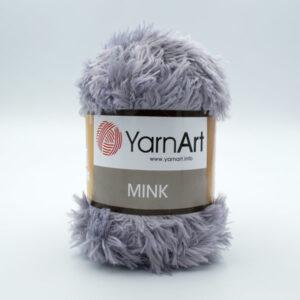 Пряжа YarnArt Mink 334 светло-серый