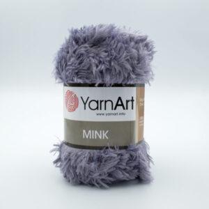 Пряжа YarnArt Mink 335 серый