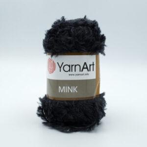 Пряжа YarnArt Mink 336 черный