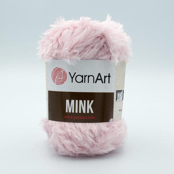 Пряжа YarnArt Mink 347 светло-розовый