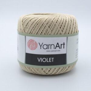 Пряжа YarnArt Violet 4660 бежевый