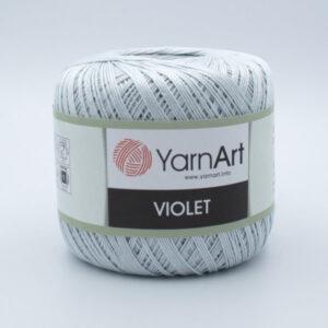 Пряжа YarnArt Violet 54452 светло-серый