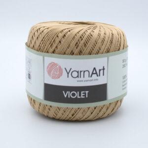 Пряжа YarnArt Violet 5529 бежевый