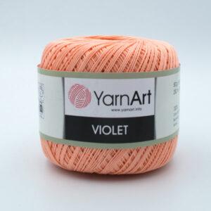 Пряжа YarnArt Violet 6322 персик