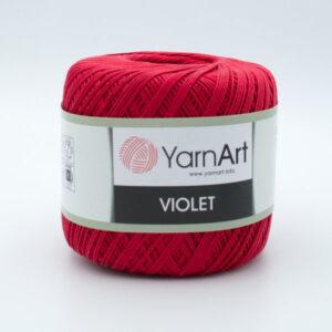 Пряжа YarnArt Violet 6328 красный