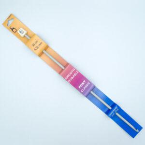 Крючок для тунисского вязания 4.5 мм 30 см Pony 43610 металлический с тефлоновым покрытием