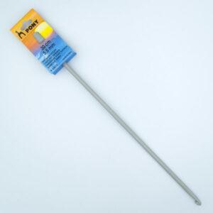 Крючок для тунисского вязания 5.5 мм 30 см Pony 43612 металлический с тефлоновым покрытием