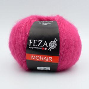 Пряжа Feza Mohair 1231 малиновый