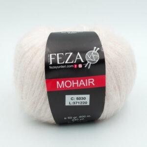 Пряжа Feza Mohair 5030 молочно-бежевый