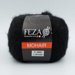 Пряжа Feza Mohair 9900 черный