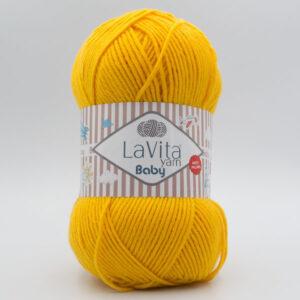 Пряжа LaVita Baby 2021 желтый