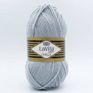 Пряжа LaVita Chells 0003 светло-серый
