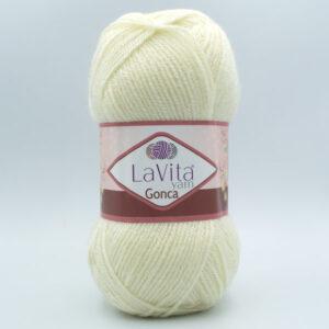 Пряжа LaVita Gonca 1021 молочный