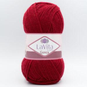 Пряжа LaVita Gonca 3006 темно-красный