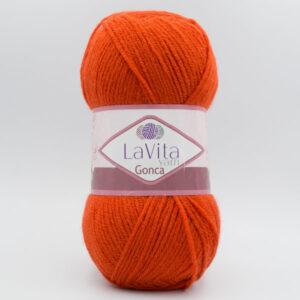 Пряжа LaVita Gonca 3106 оранжево-рыжий
