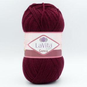 Пряжа LaVita Gonca 3209 темно-бордовый