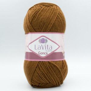 Пряжа LaVita Gonca 7218 коричневый