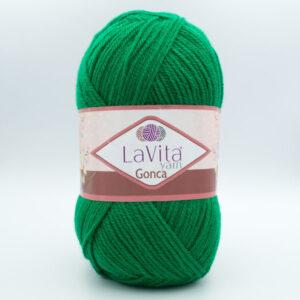 Пряжа LaVita Gonca 8125 зеленый