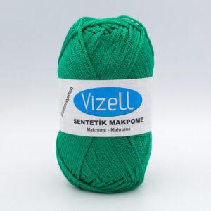 Пряжа Vizell Makrome зеленый CYESIL