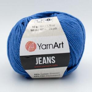 Пряжа YarnArt Jeans 16 темно-голубой