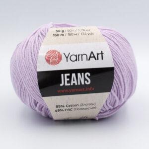 Пряжа YarnArt Jeans 19 светлая сирень