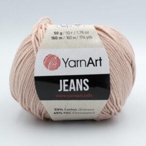 Пряжа YarnArt Jeans 83 светлая пудра