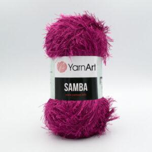 Пряжа Травка YarnArt Samba 2014 фуксия