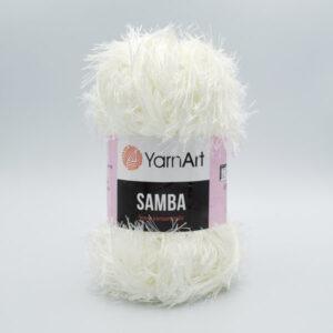 Пряжа Травка YarnArt Samba 830 молочный