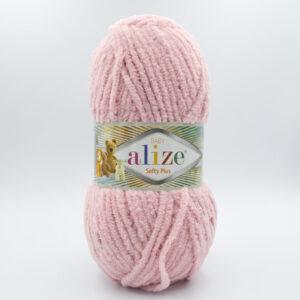 Пряжа плюшевая Alize Softy Plus 161 пудра