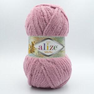 Пряжа плюшевая Alize Softy Plus 295 сухая роза