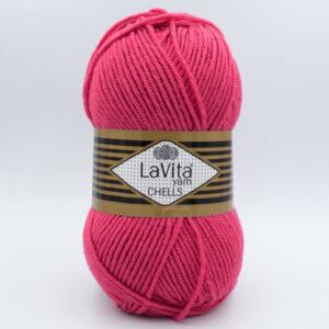 Пряжа LaVita Chells 0119 кораллово-малиновый