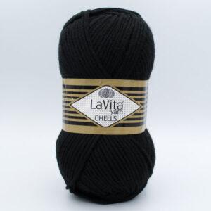 Пряжа LaVita Chells 9500 черный
