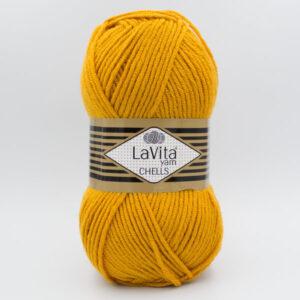 Пряжа LaVita Chells 9536 горчичный
