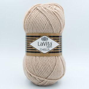 Пряжа LaVita Chells 9678 бежевый