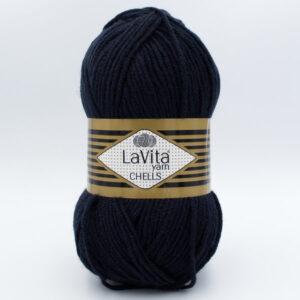 Пряжа LaVita Chells 9779 чернильный синий